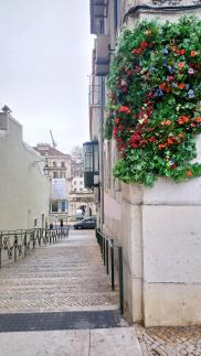 Une petite ruelle du BAIRRO ALTO
