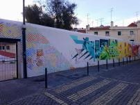 Street art dans le quartier de Mouraria