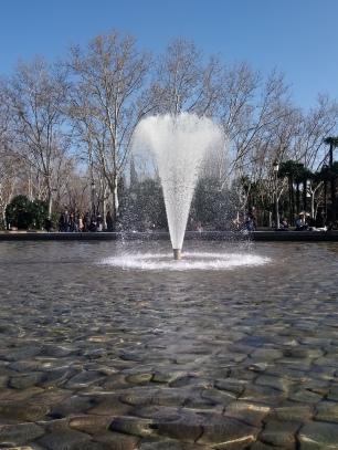 La fontaine du temple Debod