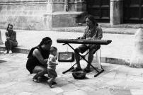 Moment d'émotions avec ce pianiste de rue.