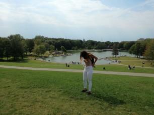 Le lac des castors (et une dinde).
