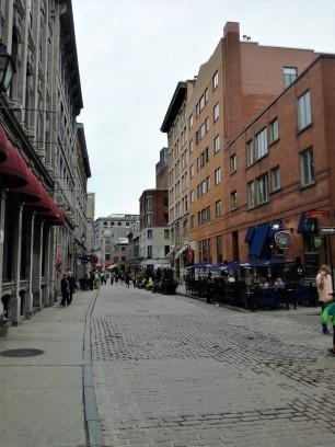 Les vieilles rues de Montréal