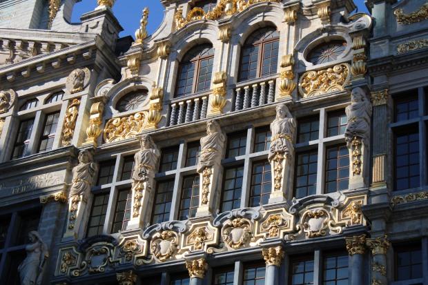 Natchou à la Grand Place de Bruxelles